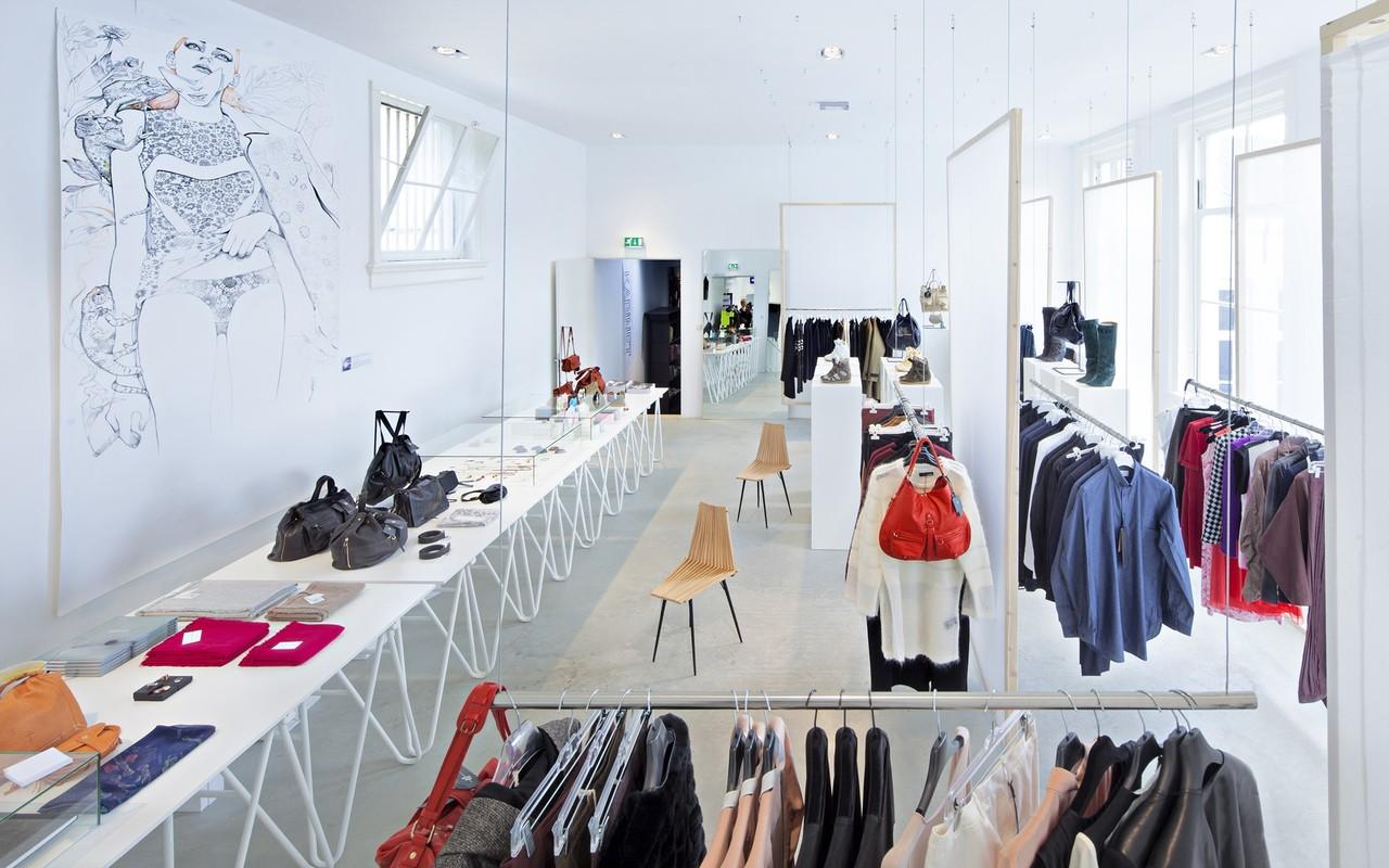 Виды дизайна магазина