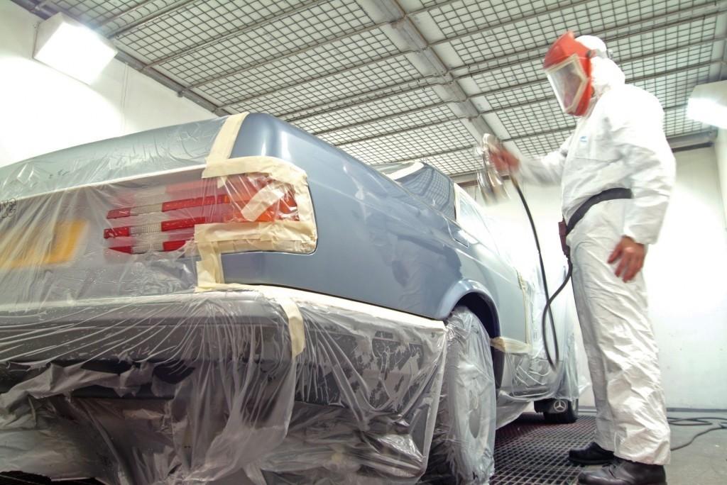 Технология покраски автомобиля своими руками в гараже 95