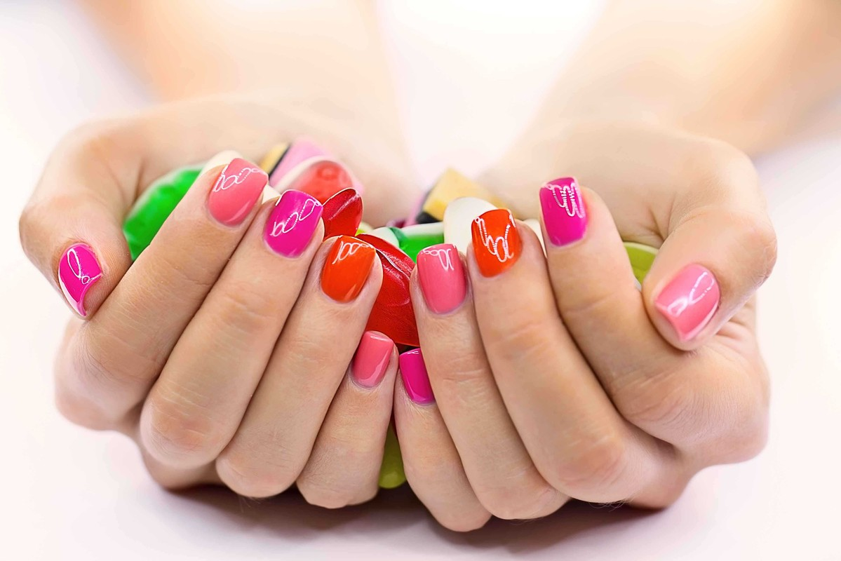 Фото маникюра покраски ногтей