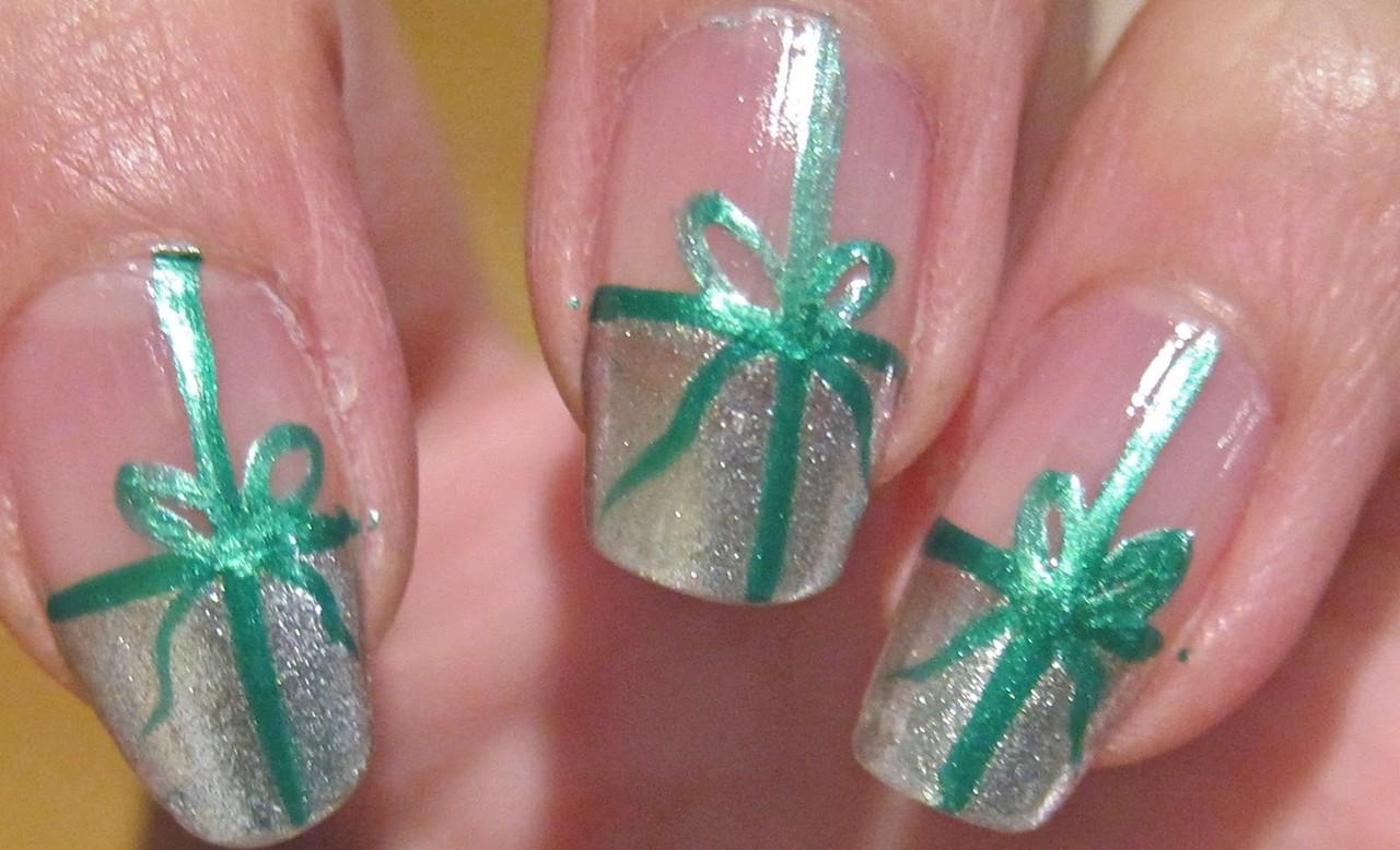 Ногти на новый год фото своими руками