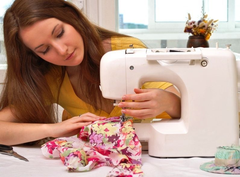 Работа на кройки и шитья